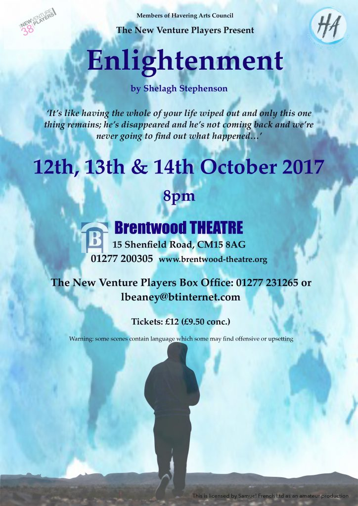Enlightenment | The New Venture Players | Brentwood Theatre
