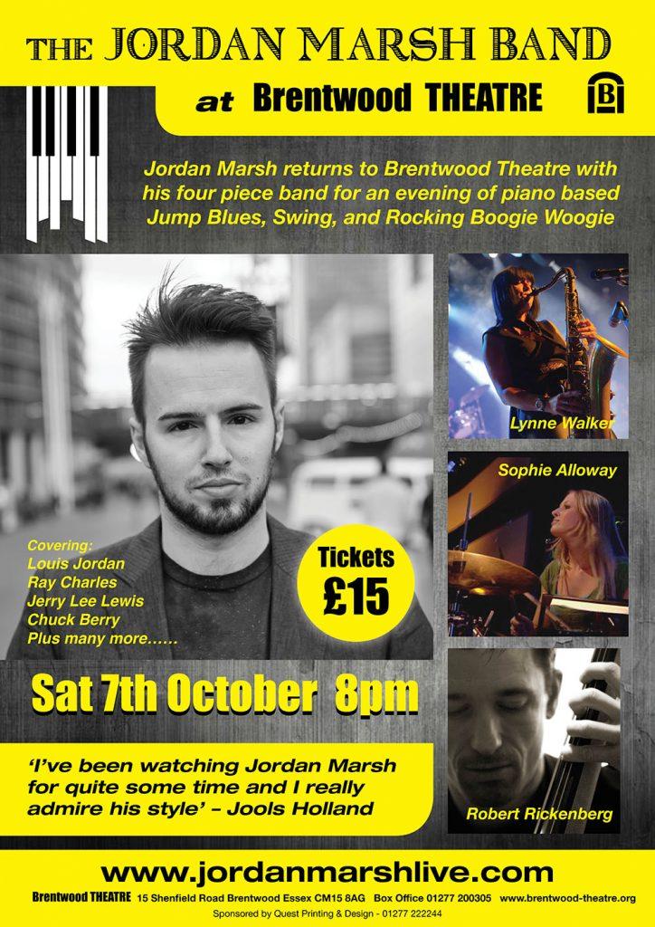 The Jordan Marsh Band | Brentwood Theatre