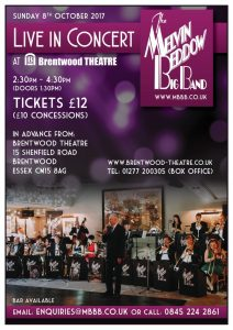 The Melvin Beddow Big Band | Brentwood Theatre