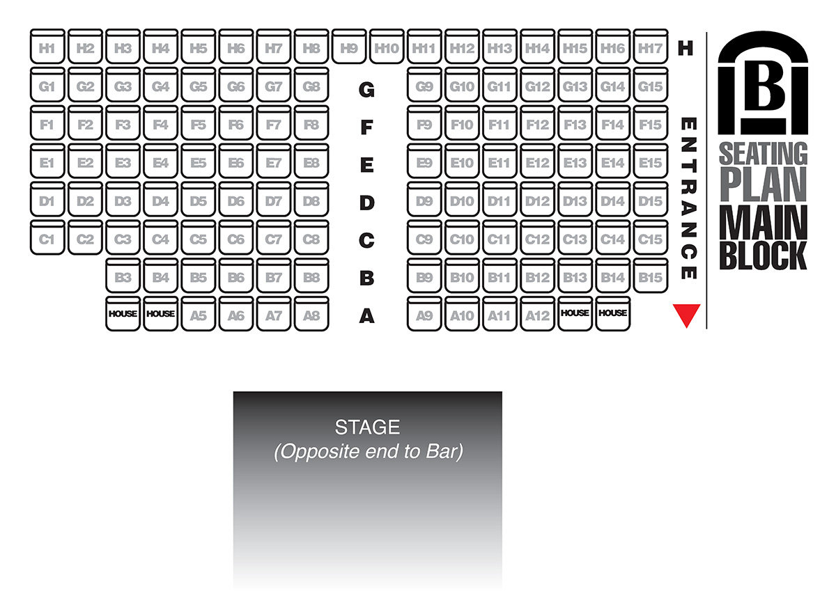 Seating Plan - 113 | Brentwood Theatre