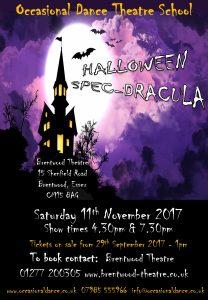 Halloween Spec-dracula | Occasional Dance Theatre School | Brentwood Theatre
