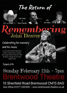Country Music Club | The Return of remembering John Denver | GT Production | Brentwood Theatre |