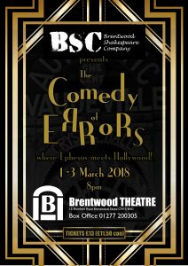 Comedy of Errors | Brentwood Shakespeare Company | Brentwood Theatre