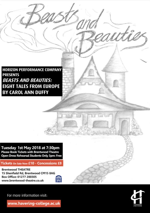 Beasts and Beauties | Horizon| Havering College || Brentwood Theatre