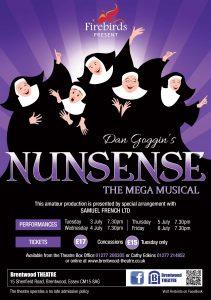 Nunsense | Firebirds | Brentwood Theatre |