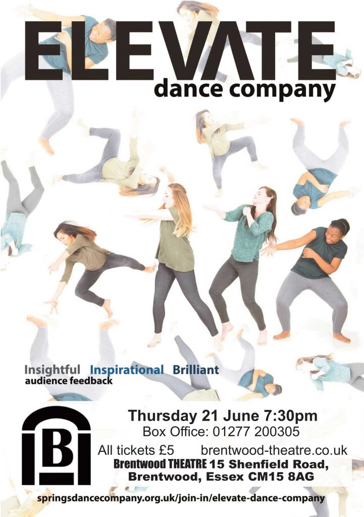 Elevate Dance Company | Brentwood Theatre