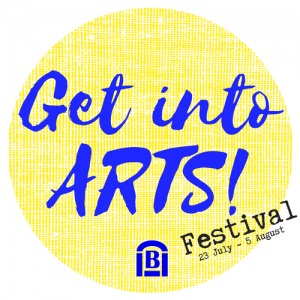 Get Into ARTS! Festival Logo
