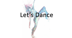 Let's Dance | Brentwood Theatre