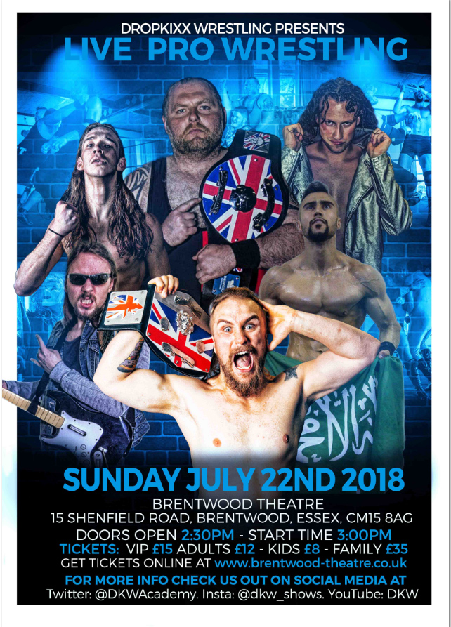 Dropkixx Wrestling | Brentwood XIX | Brentwood Theatre